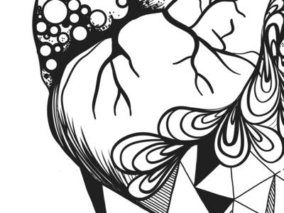 Heart Illustration   Detail 1