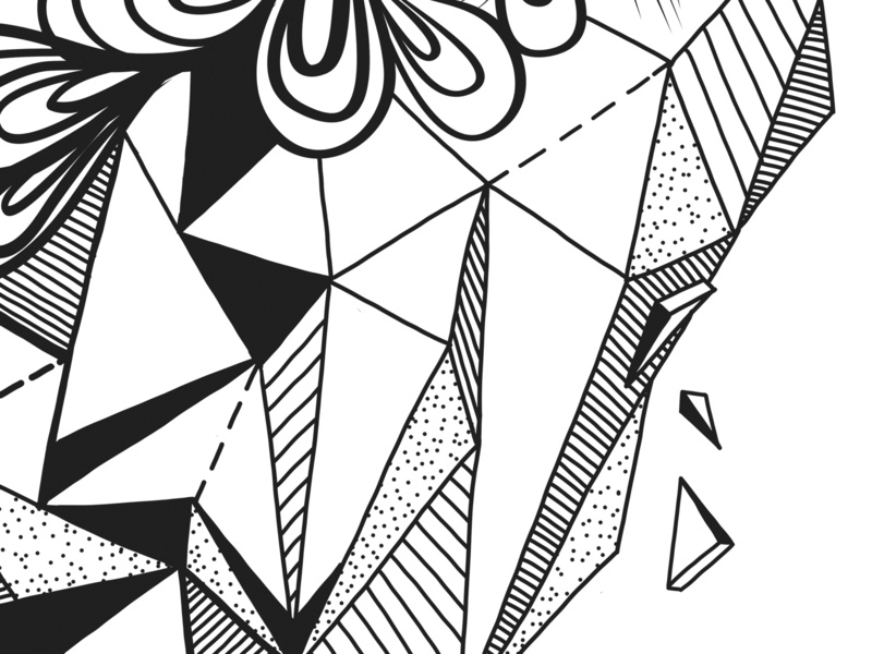 Heart Illustration | Detail 3 line drawing line art illustration coloring page coloring book anatomy adobe illustrator adobe draw