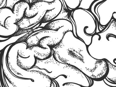 Brain Illustration   Detail