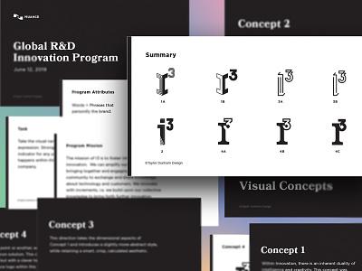 I-cubed Branding visual identity logo mark logomark icon logo designer logo design logo brand designer brand identity identity brand design branding design branding