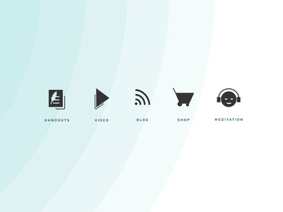 Simplifed Icon set for Conscious Leadership Group