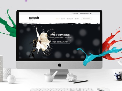 Splash website