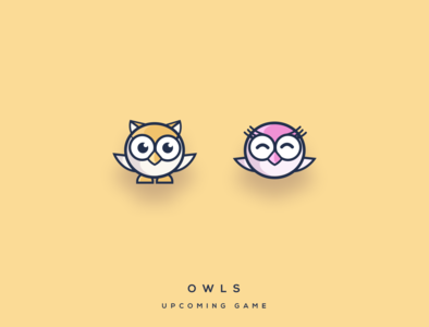 Owl icons for my upcoming game on iOS and Android