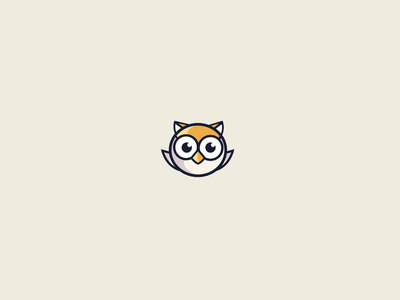 Simple Idle Owl Character animation
