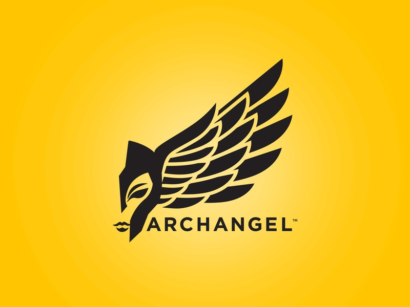 Archangel Sports Logo triathlon design illustration cycling branding brand logo