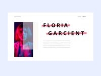 Portfolio UI - About Me