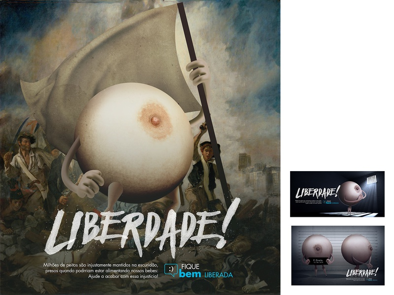 Liberdade 1 feminism social cheogonzalez cheo gonzalez cheo women publicidade advertising art direction illustration