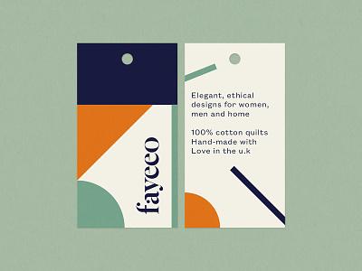 Quilt Labels minimal quilt shape letter label clothing label typography graphics graphic design design bespoke clothing branding