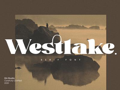 Westlake -  Unique serif font modern font serif font icon logo design fonts font logo type typography branding