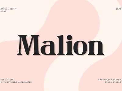 Malion - Serif Font