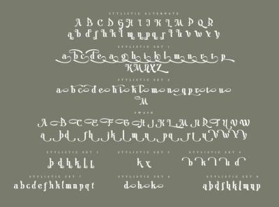 Fitriyah - Display Calligraphy Font beautiful moeslem logo design font logo type fonts branding