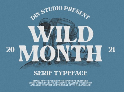 WILD WOLD - A New Serif Font modern font serif font new font logo design font typography logo type fonts branding