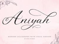 Aniyah Font 1
