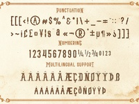 8blacktail font