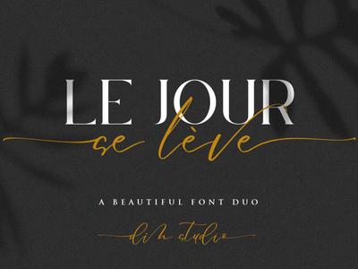 Le Jour Font Duo