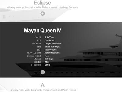 A shipbuilding company, selection page