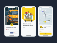 Otaxi | Taxi UI Kit