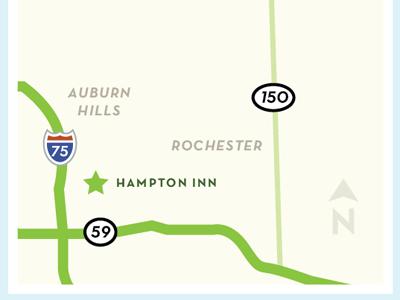 Map dribbble