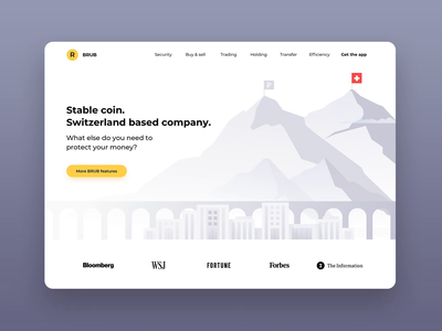 Train animation site ruble switzerland flags mountains train motion animation corporate pay money coin cryptocurrency crypto stablecoin