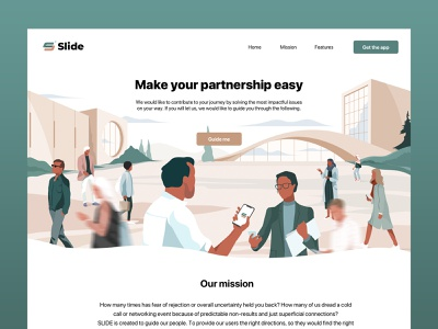 Slide meeting meetup team search plans slide personal collaborate invest business card phone touch service business meet share