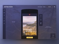Online graphic design app