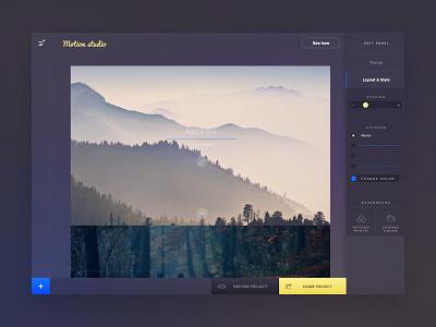 Page editor studio ui image page desktop web builder construct edit page editor
