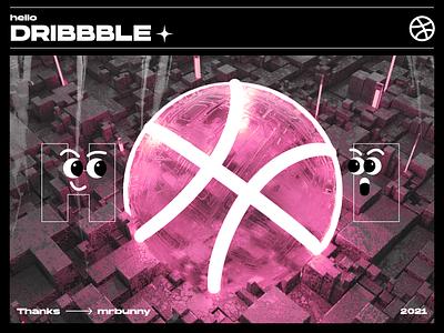 Hello, dribbble|Planet design firstshot