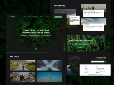 Ecologia - Landing Page