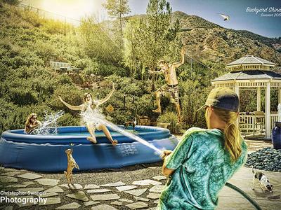Backyard Shinanigans Chris Swanger Photography Sm