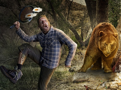 Unwelcomed Guest Chris Swanger Photography Web photo editing photo manipulation commercial photography photography composite