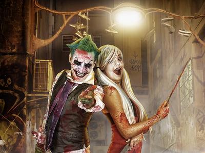 The Joker Composite Chris Swanger Photography Web