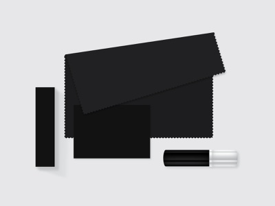 Cloth and spray for glasses care   Packaging Design product design brand identity branding design vector minimal design branding graphic design glasses spray cloth paper packaging designer packaging pack