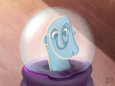 Buzzi character design drawing digital art texture dali buzz lightyear illustration sketch