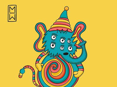 Eli.The.Loliphant 🍭🍭🍭 digital artist ilustration art cool fun colors cartoons