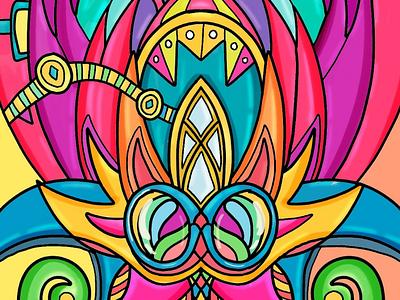 Sneak peek from a new project 😁💪 work ideas artist arte fun colors ilustration