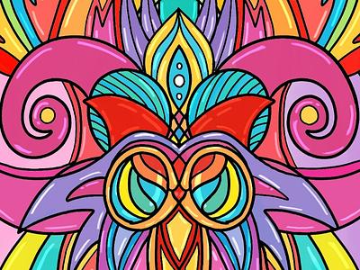 Work in progress 2 new funky art artista ilustration fun work cartoons characters colors