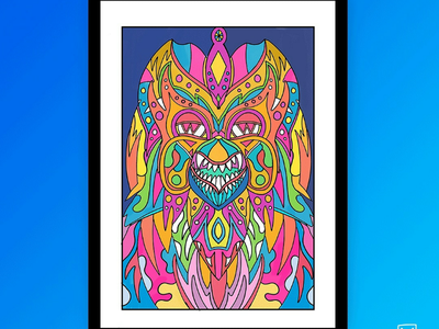 Night owl 🎨🔥🎨 characters ilustration fun cool drawing draw colors owl