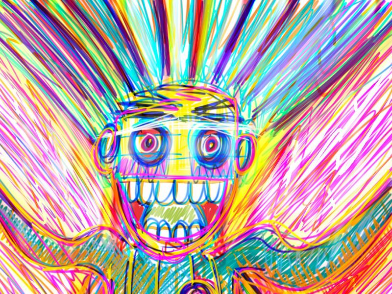 Brainstorm ilustration cool epic fun work colors braun storm