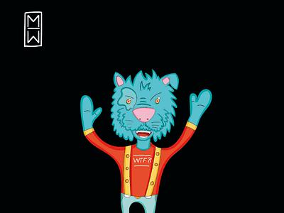 Rogan.The.Blue.Cat 🔵🐱🔵 colors fun characters ilustrations cartoons cat
