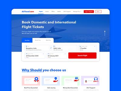 Flight Booking Website iconography flight booking website travel website website casestudy uxdesign uidesign uiux