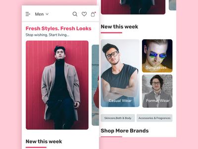 Fashion/E-commerce App