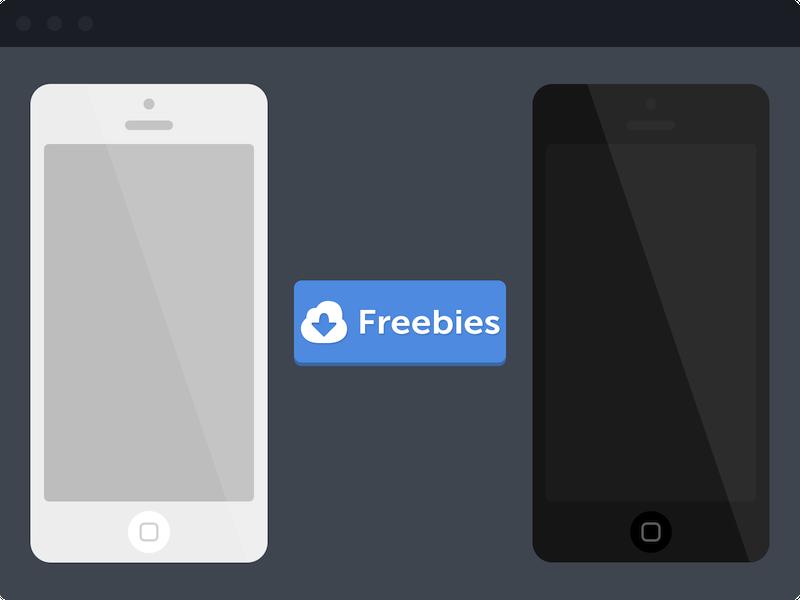 iPhone 5 Mockup design webdesign web ui ux iphone apple mockup psd freebies