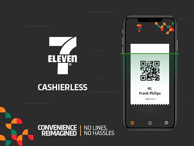 7-Eleven CASHIERLESS ios ux cashierless