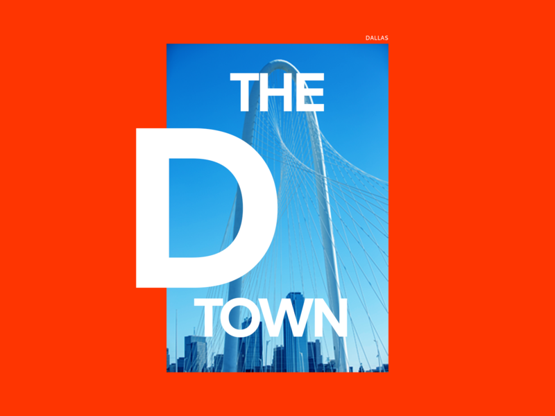 The D Town designs design