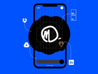 Personal Branding logo portfolio ui ux