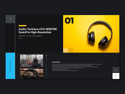 Display UI ui headphones display