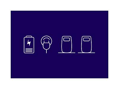 Energy icons ux ui