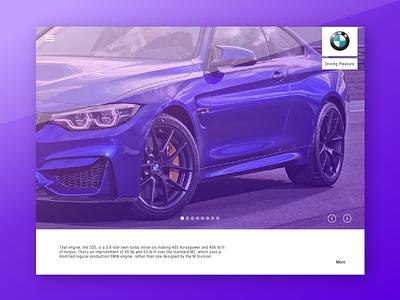 Dealership web application web ux ui