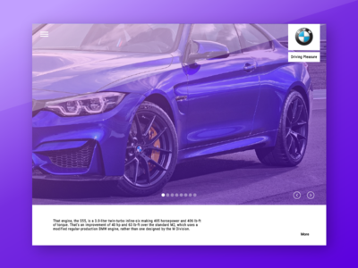 Dealership web application web ux ui