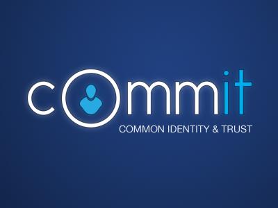 Commit logotype logo